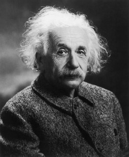 Albert Einstein: All religions, arts, and sciences are branches of the same tree