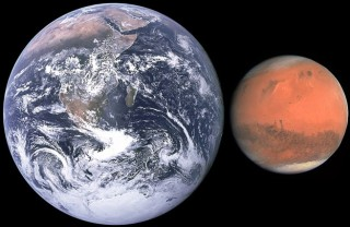 The red planet's small size complicates its habitability